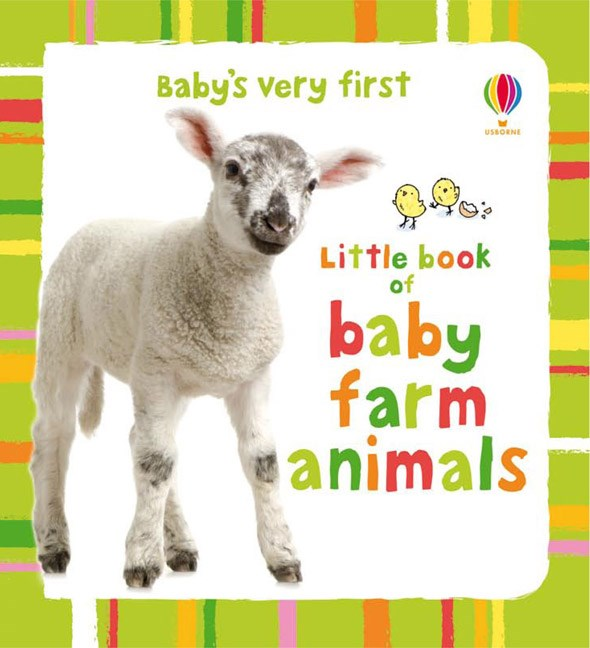 Little book of baby farm animals