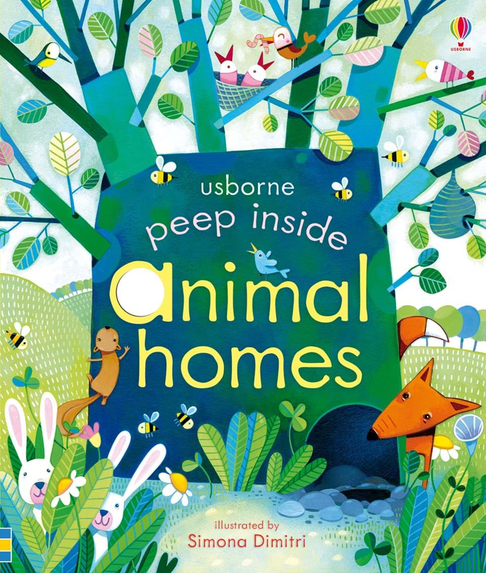 Peep inside - Animal homes