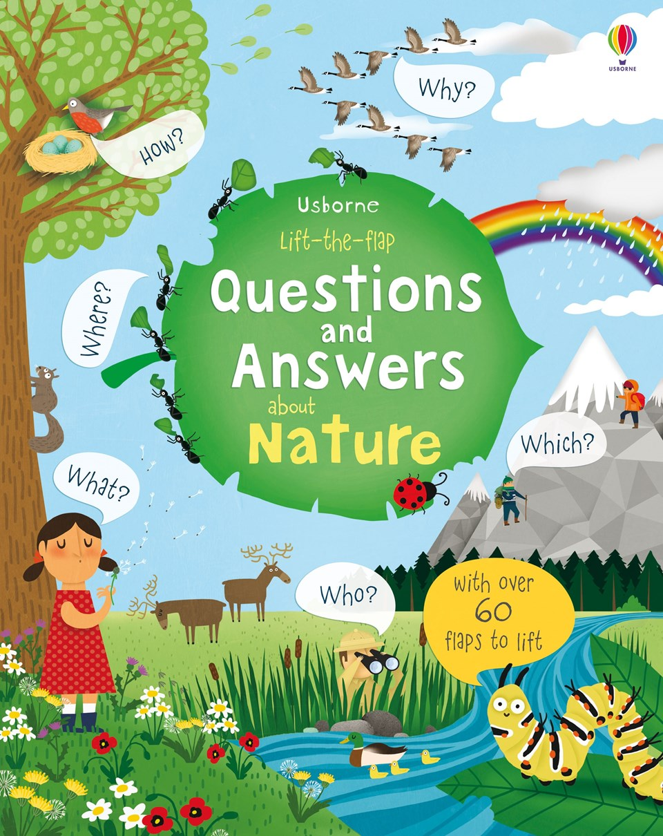 Lift-the-flap - Questions and answers about nature