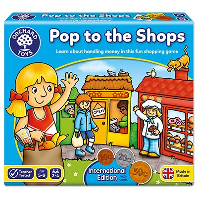 Pop to the Shops International Board Game
