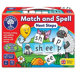 Match and Spell Next Steps Game  (Orchard Toys)