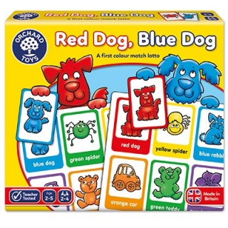 Red Dog, Blue Dog Game (Orchard Toys)
