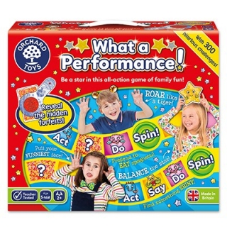 What a Performance Board Game (Orchard Toys)