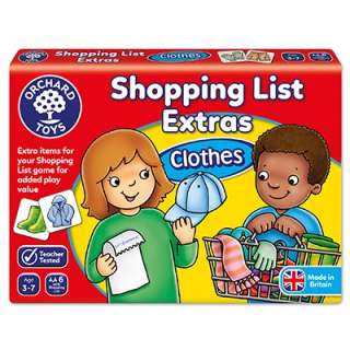 Shopping List Extras - Clothes (Orchard Toys)
