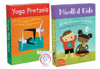 Mindful Kids & Yoga Pretzels Cards