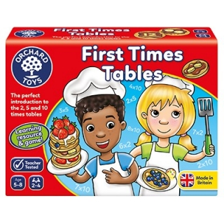 First Times Tables Game (Orchard Toys)