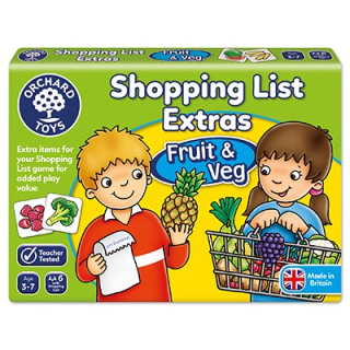 Shopping List Extras - Fruit & Veg (Orchard Toys)